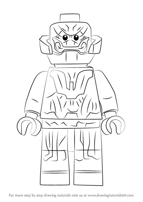 learn   draw lego ultron lego step  step drawing tutorials