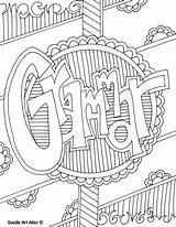 Coloring Subject Grammar Binder Covers Printable Doodle Notebook Teaching Doodles Language Student Arts Subjects Binders Classroom Writing Teacher Classroomdoodles Musica sketch template