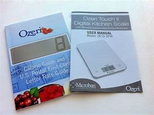ozeri touch ii kitchen scale healthier dishes With ozeri bathroom scale manual