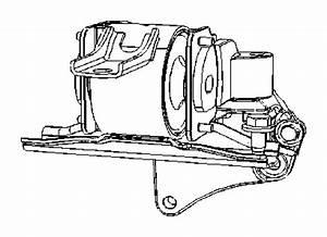 Jeep Patriot Bracket  Mount  Engine  Replacement Motor