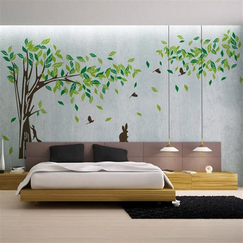 living room wall decals bedroom wall sticker tv background