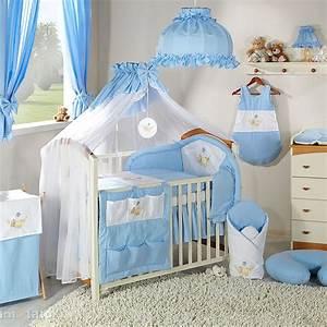 Lit Enfant Garcon : parure chambre b b gar on bleue ours hamac promo ~ Farleysfitness.com Idées de Décoration
