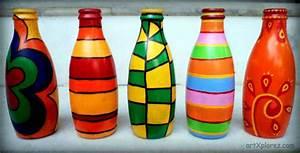 Decorative bottle art artXplorez