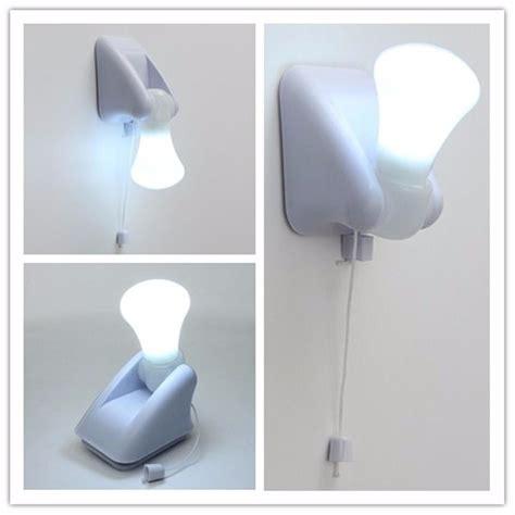 led light portable stick up led cabinet closet bulb nightlight self adhesive battery wall