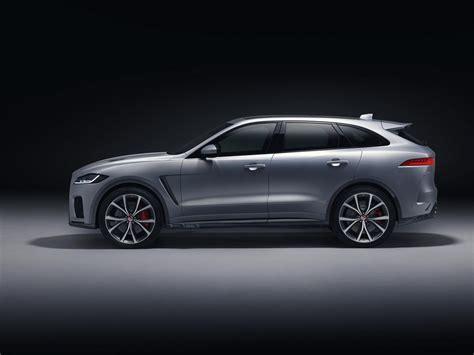 2019 Jaguar Svr by 2019 Jaguar F Pace Svr Unveiled With 550 Horsepower