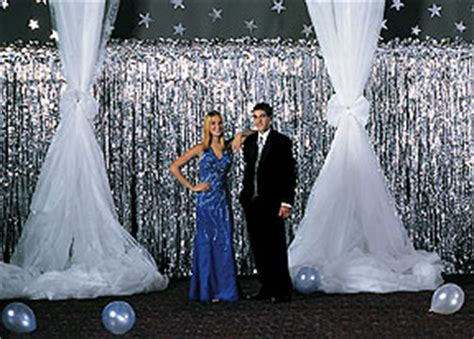 Used Prom Decorations - prom decorating gossamer that s a wrap