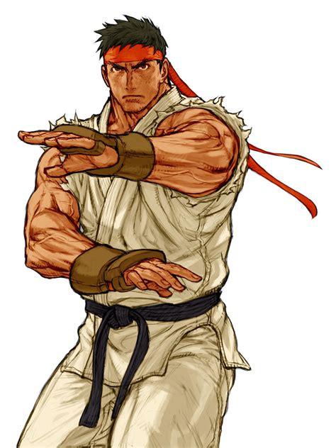 Capcom Vs Snk 2 Ryu Capcom Artwork Street Fighter Art