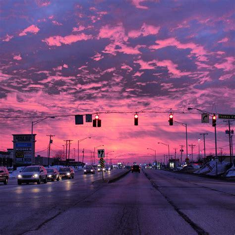 Pin By Huseyin On Guzel Manzaralar Sky Aesthetic Purple
