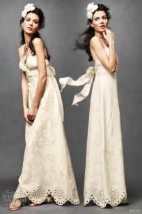 linen wedding dress bhldn wedding dresses 2011 wedding inspirasi
