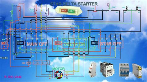 Sep 13, 2015 · automatic star delta starter using relays and adjustable electronic timer for induction motor automatic speed regulation depending on incoming vehicle on high ways (fuel injection) automatic solar tracker Star delta starter working function and connection diagram - YouTube