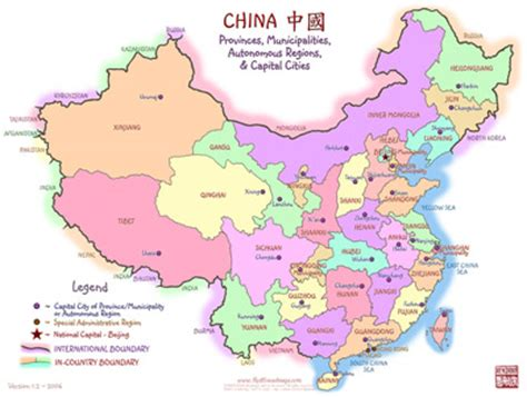 map  china provinces  capitals autobedrijfmaatje
