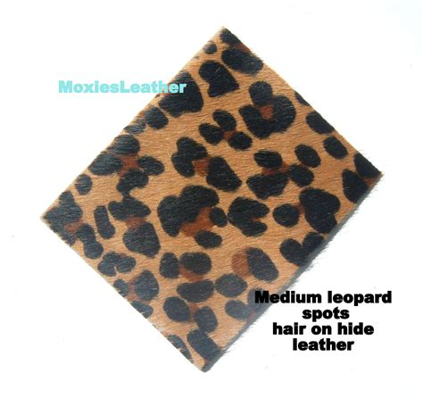 Cowhide Pieces by Leather Animal Print Leather Pieces Hair On Hide