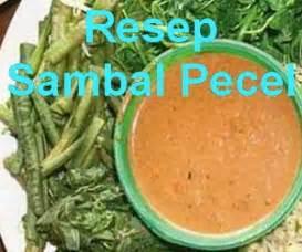 resep bumbu sambal pecel khas madiun info resep