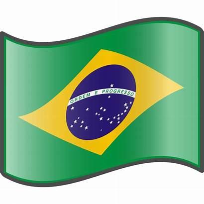 Flag Brazilian Brazil Clip Clipart Svg Nuvola