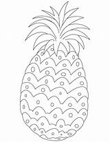 Pineapple Coloring Pages Printable Fruit Sheets Fruits Fresh Books Bestcoloringpages Kleurplaten Adult Spongebob Stencil Plants Duck Pattern Preschool Template Children sketch template