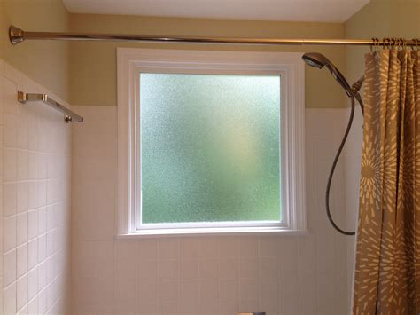 what to do if you a window in your shower