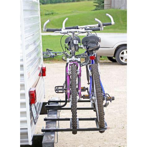 bike rack for rv apex rv bumper bike rack 2 bike 4 bike rs
