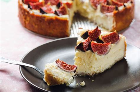 fig recipes fig cheesecake recipe goodtoknow