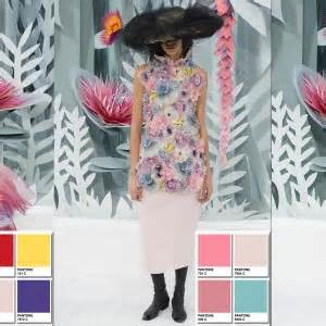 christian dior spring  couture collection color codes