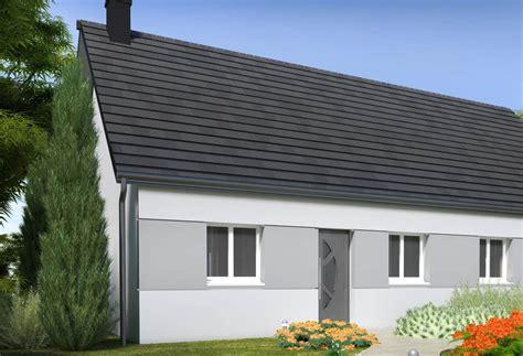 prix maison plain pied 3 chambres plan maison individuelle 3 chambres 104 habitat concept