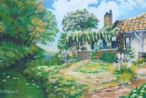 La Maison De Mes Reves : peinture la maison de mes r ves ~ Nature-et-papiers.com Idées de Décoration