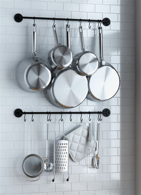 day shipping buy wallniture thick kitchen wall mount rail   hanging utensil