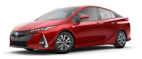 2017 Toyota Prius Prime Color Options
