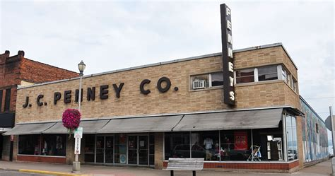 jc penney store buildings roadsidearchitecturecom