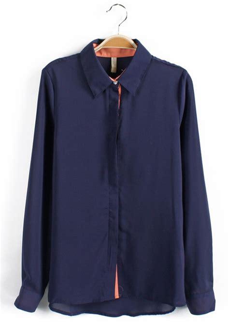 navy blouses navy blue sleeve blouse black blouse