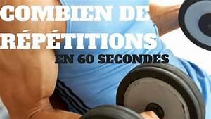 Combien De R U00c9p U00c9titions Pour Prendre Du Muscle