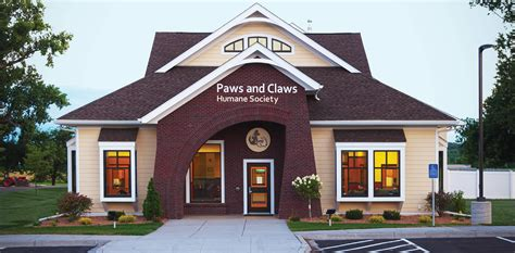 home humane society jackson architects paws and claws humane society