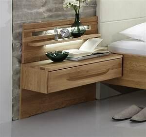 Nachttisch Mit Schublade : eichen nachttisch z b als schwebende konsole morley ~ Eleganceandgraceweddings.com Haus und Dekorationen