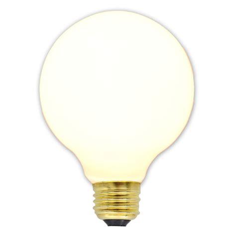 3 quot white medium base decorative globe light bulb 10 pack
