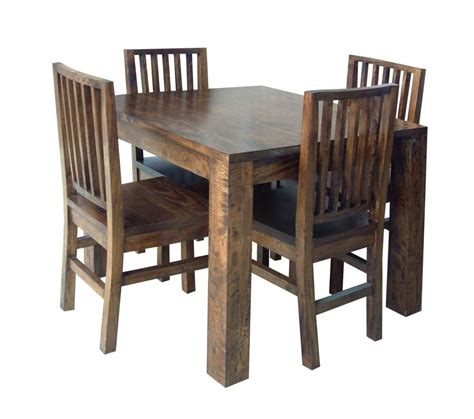 wooden card table dining tables mango wood hampton  square dining table  chairs