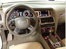 Export New 2013 AUDI Q7 30 TDI WHITE ON BEIGE