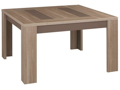table carr 233 e 130 cm atlanta coloris ch 234 ne fusain vente de table de cuisine conforama