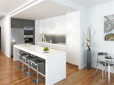modern white kitchen design best 25 modern kitchens with islands ideas on 7791