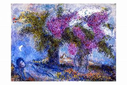 Chagall Marc Paintings Entertainment Arts Gardens