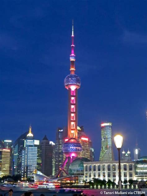 oriental pearl television tower  skyscraper center