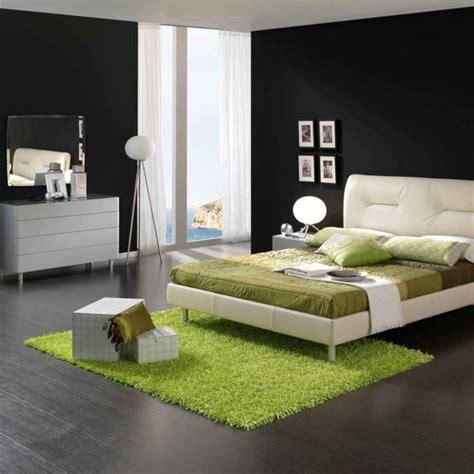 schlafzimmer wände ideen weiß schwarz w 228 nde gestalten gute argumente f 252 r die dunkle wandgestaltung
