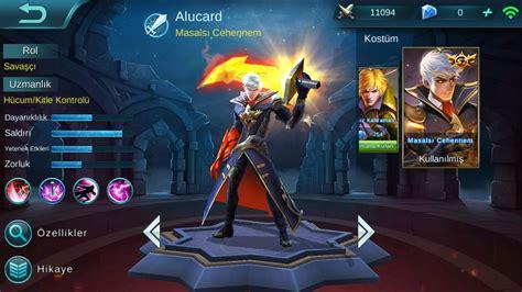 Mobile Legends Alucard 5vs5 New Skin/alucard'ın Yeni