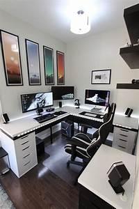 Computer Im Schlafzimmer : battle station gaming office gaming center pinterest buero schreibtisch und arbeitszimmer ~ Markanthonyermac.com Haus und Dekorationen