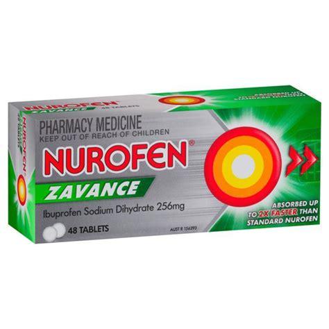 Chemist Connect. Nurofen Zavance Fast Pain Relief Tablets ...