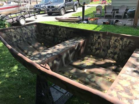 For Sale 8 Foot Flat Bottom Duck Boat 450 Rhinelander