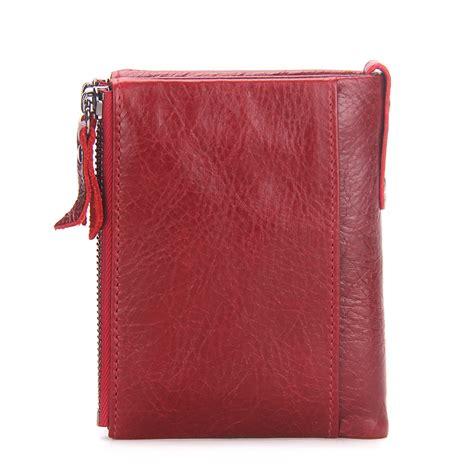 fashion genuine leather women wallet bi fold wallets