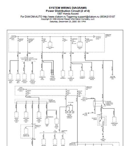 Repair Manuals Honda Accord Wiring Diagram