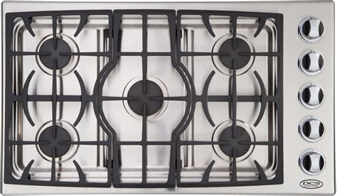 dcs ctdssn   gas cooktop   sealed dual flow burners  continuous grates natural gas