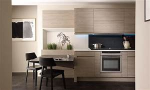 Remo Elm - Handleless Fitted Kitchens Wigan