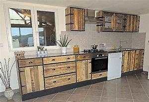 Meuble De Cuisine En Palette : fabriquer meuble haut cuisine ~ Dode.kayakingforconservation.com Idées de Décoration