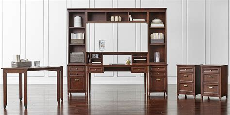 Modular Home Office Furniture by Modular Home Office Collections Crate And Barrel
